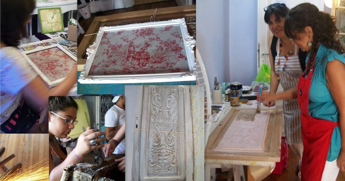 Ale arte deco cursos de tapiceria y restauracion 2012 - Talleres de tapiceria ...