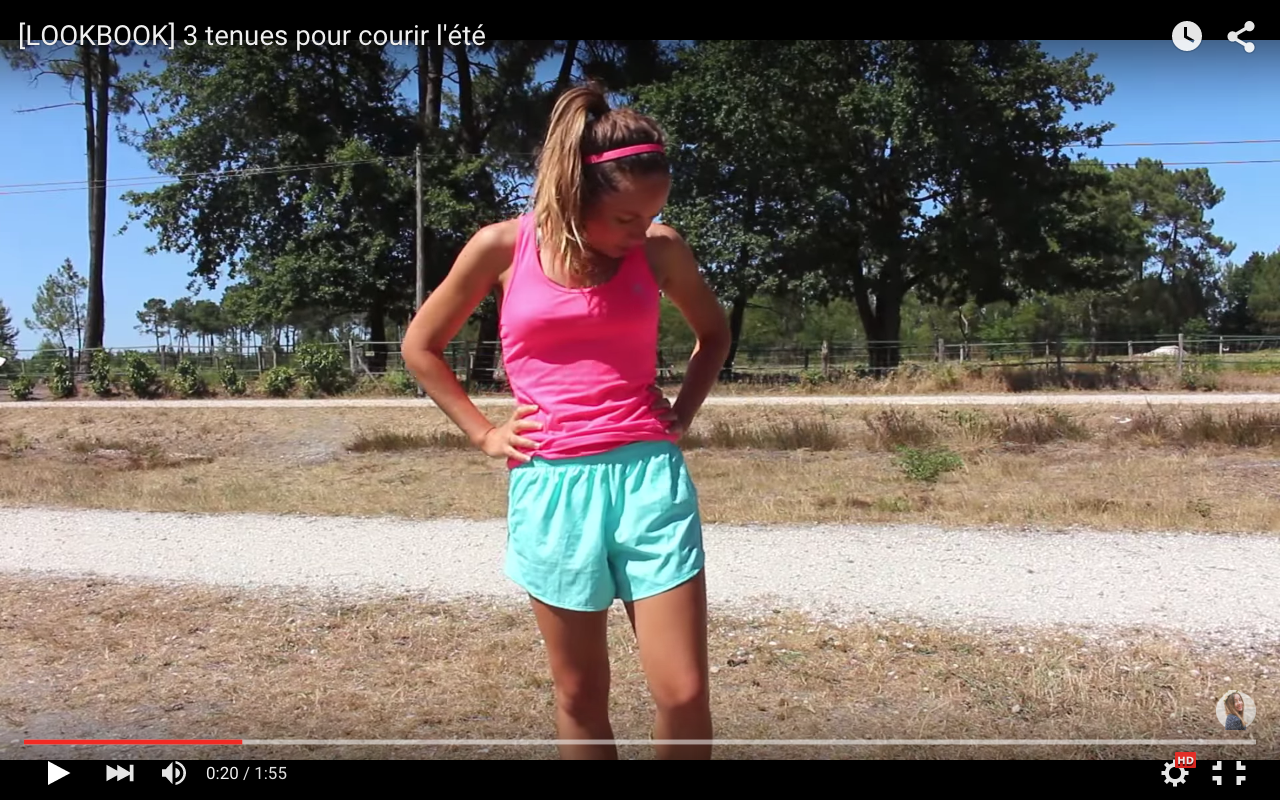 running tenues pour courir lete