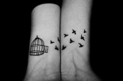 tatuaje pajaritos liberados
