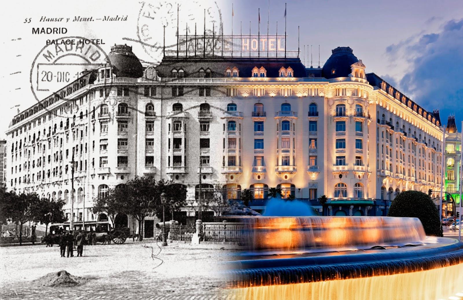 Tal d a como hoy en madrid 12 octubre 1912 se inaugura for Hoteles gran lujo madrid
