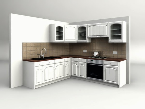 Foundation Dezin Decor Kitchen 3d Model