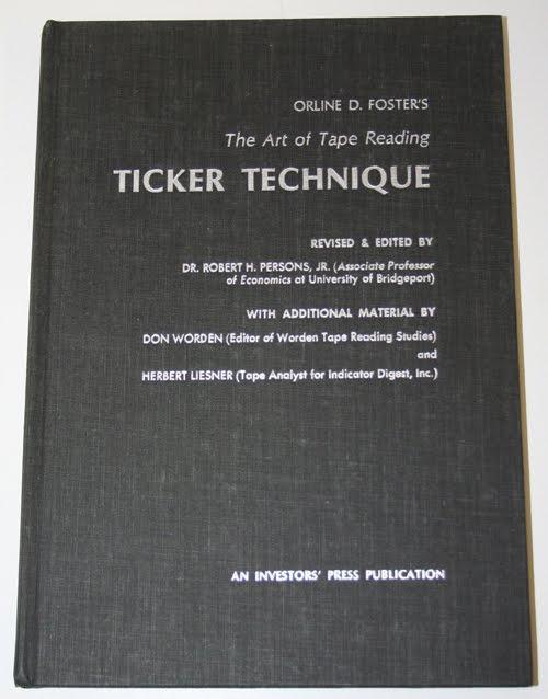 Ticker tape trading strategies