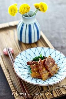 Tự làm thịt ba chỉ chiên xốt mật ong kiểu Nhật