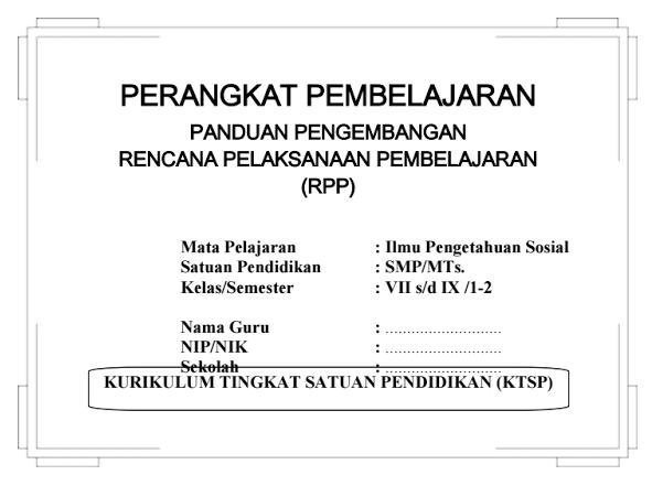 Download RPP SILABUS IPS SMP Kelas 7,8,9 KTSP Semester I dan II | Info ...