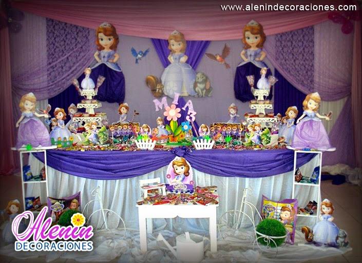 Cumple infantil cumple infantil princesa sof a - Decoracion cumpleanos princesas ...