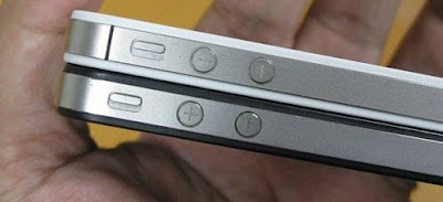 iPhone 4 and iPhone 4S Side
