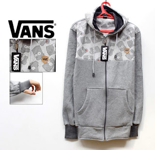 Jaket Fleece Vans Murah