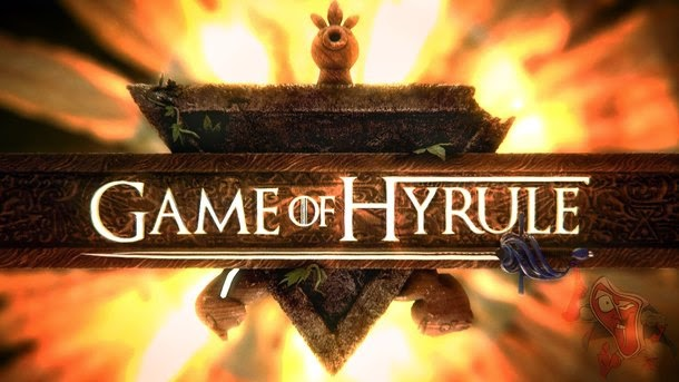 Game of Hyrule: A mistura entre Zelda e Game of Thrones
