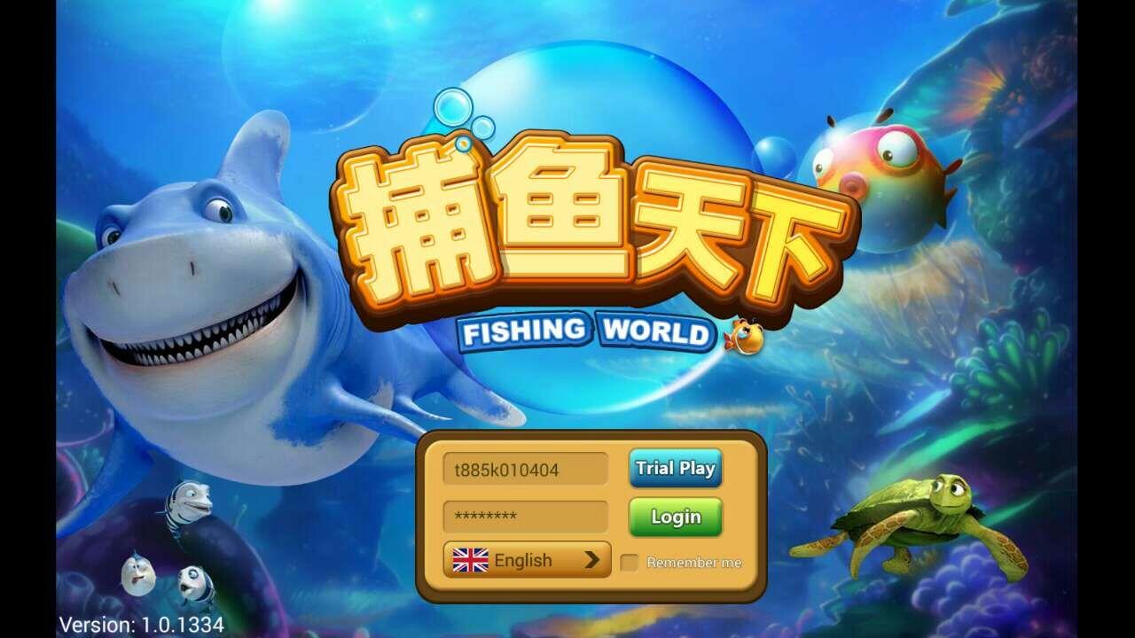 Wonder casino fishing world slot game scr888 for Fish world game