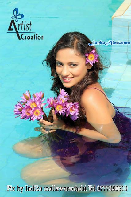 Udari  Underwater Hot Photo Shoot