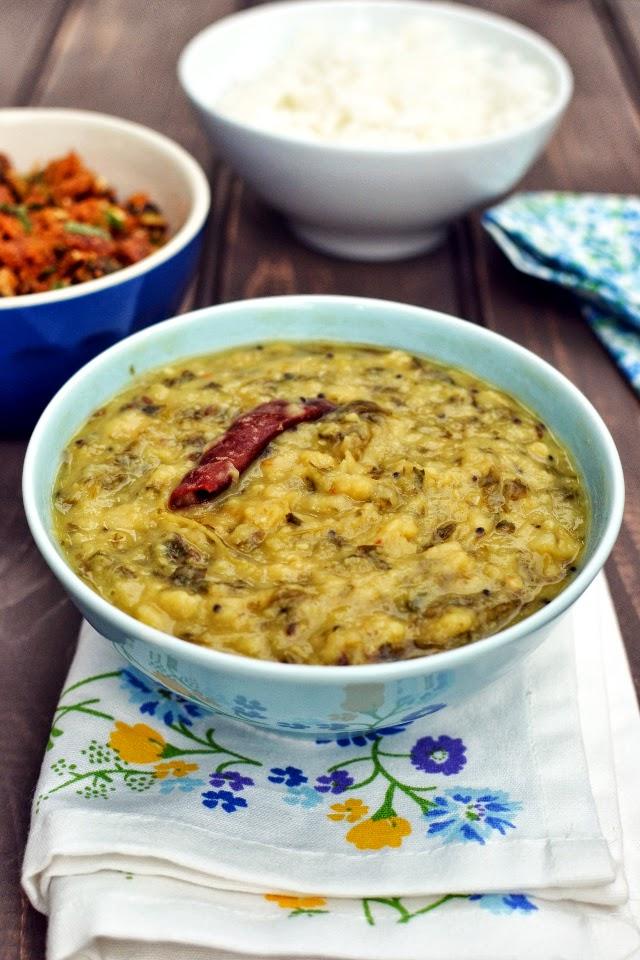Menthi kura Pappu (Dal with fenugreek leaves)