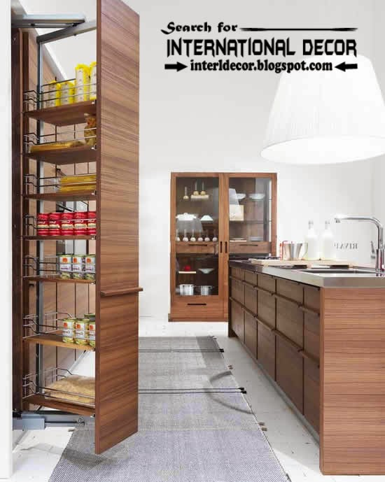 The exciting Kitchen slide out pantry shelving organize ideas wall racks picture