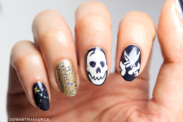Pirate nail art