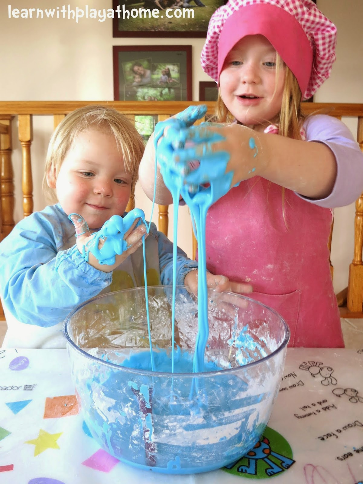how to make slime with water and cornflour