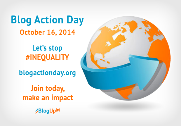 Blog Action Day, Inequality