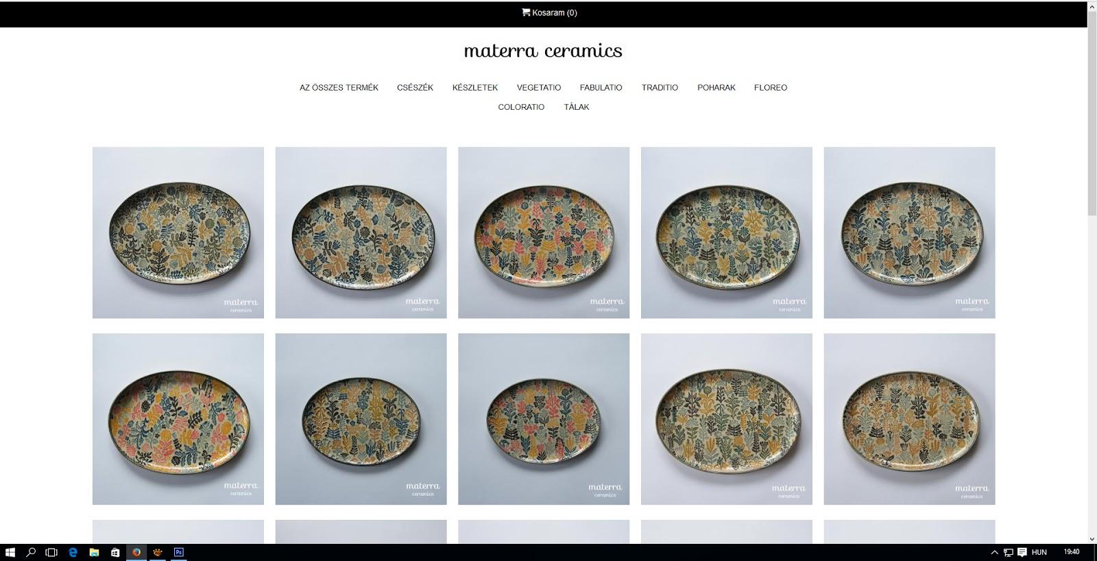 Materra WEBSHOP