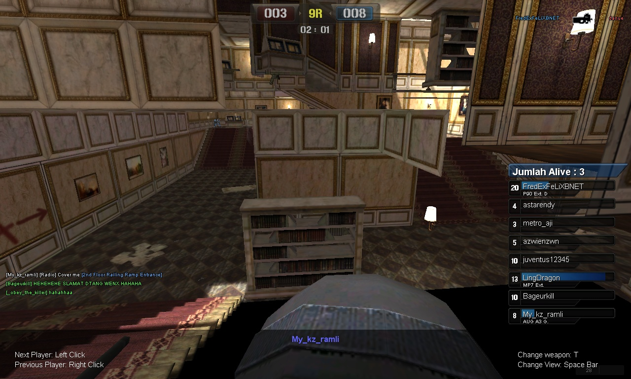 "Contoh BUG pada game POINT BLANK (CHEATER HARAM) ""Id Trooper : My_kz"