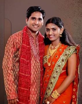 idea star singer sonia  ratheesh marriage photos