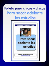 FOLLETO PARA CHICOS/AS PARA SACAR ADELANTE LOS ESTUDIOS