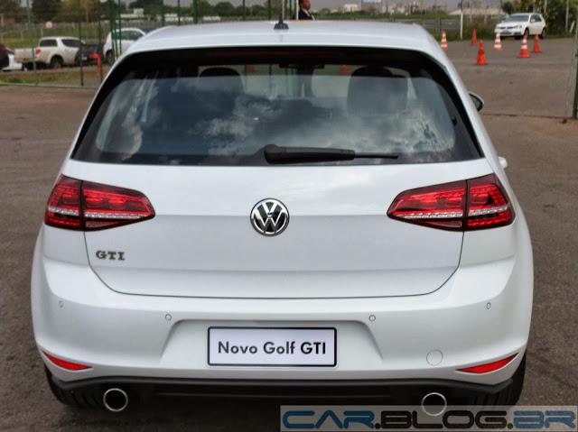 Novo Golf GTI 2013 - Branco Puro - traseira