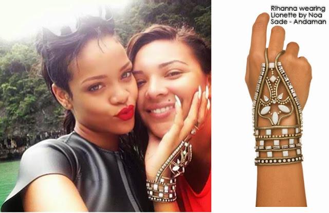 Rihanna wearing Lionette by Noa Sade - Andaman