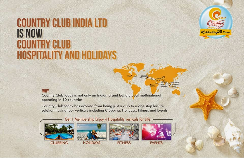 Country Club India, Country Club Hospitality Hoildays