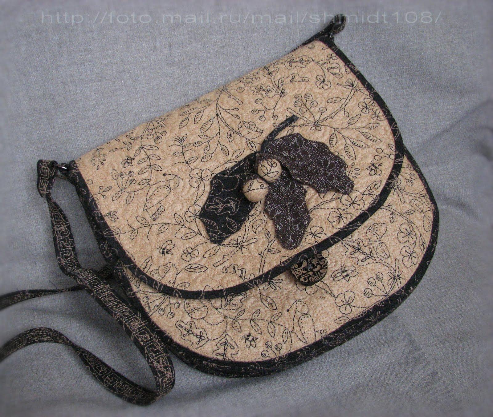 как сшить маленькую сумку через плечо выкройка