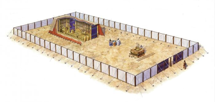 The tabernacle was a portable temple a u201cTent of Meetingu201d within a movable courtyard. It was constructed after the pattern that God revealed to Moses on ...  sc 1 st  Jesus Is the Word & you gotta go in through the door | Jesus Is the Word