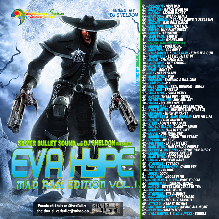 SILVER+BULLET+SOUND+-+EVA+HYPE+VOL.1+MAD