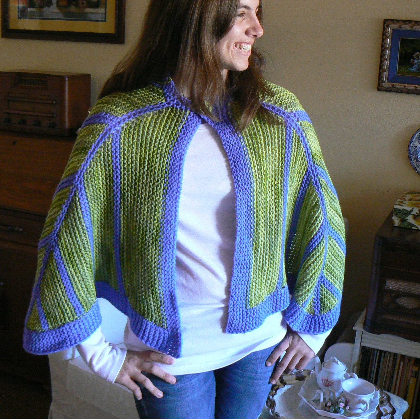 Loom Knit Shawl Pattern : Invisible Loom Innovative Patterns for Loom Knitters: Loom Knit Shawls II - A...