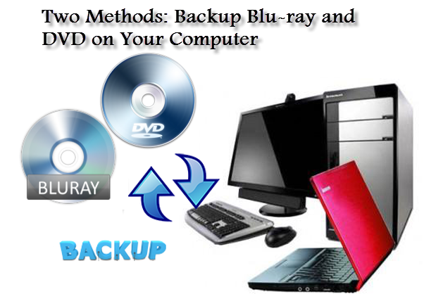 backup blu-ray/dvd on pc
