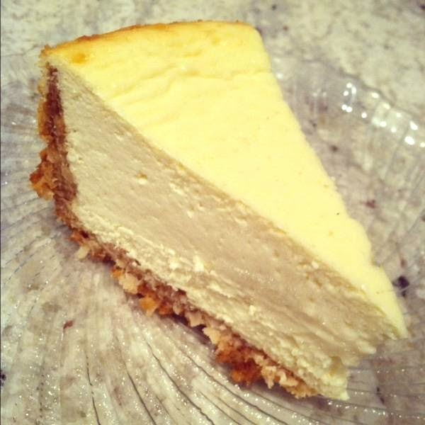 Because Of Madalene Coconut Cheesecake