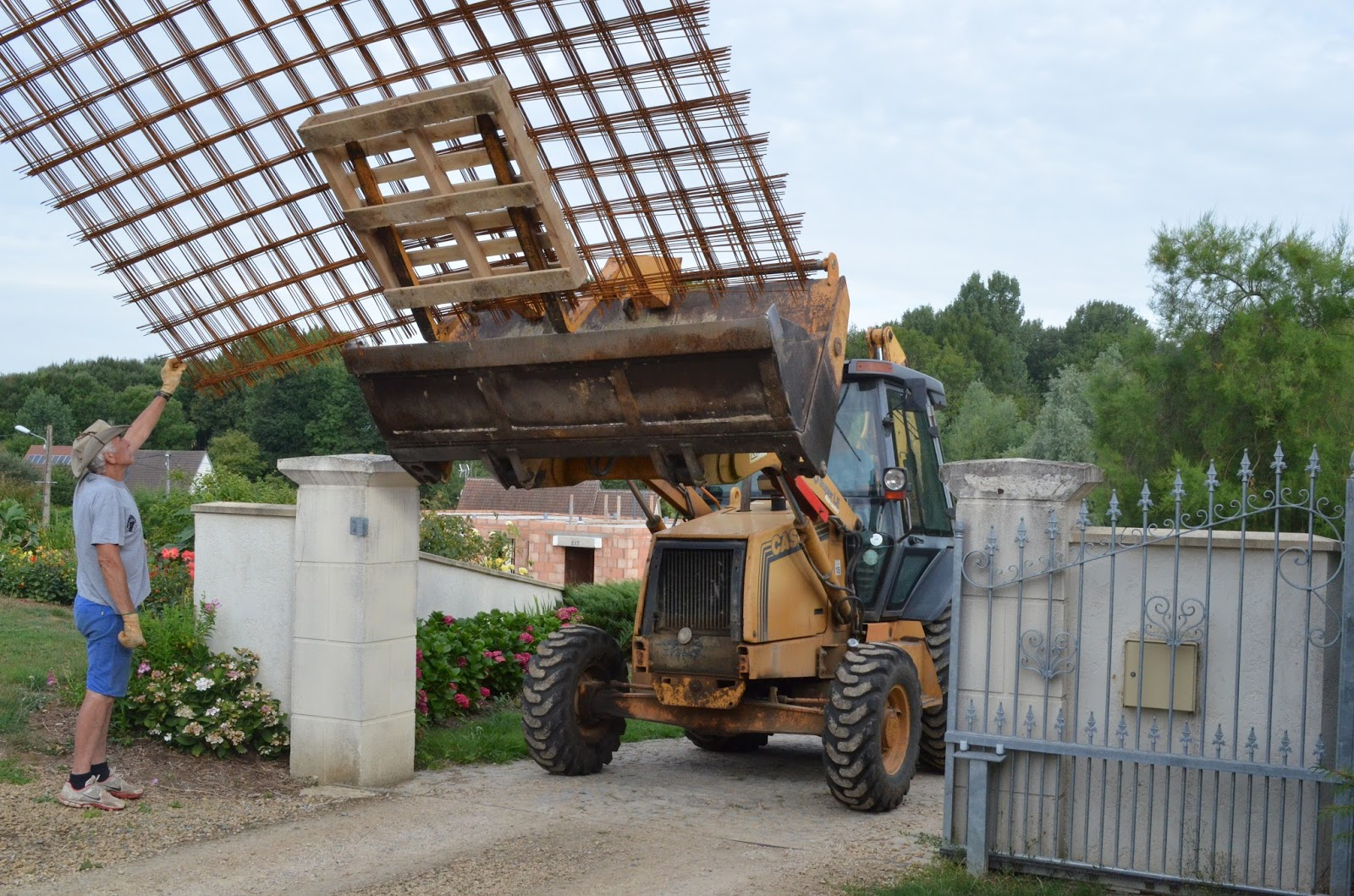 Projet construction de maison semaine 33 plancher du - Couler une terrasse contre une maison ...