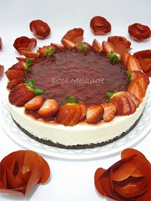 Atelier Doce Melange: Cheesecake de Morango