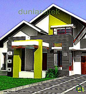Exterior Rumah Minimalis Populer di Indonesia 2014   Desain Model