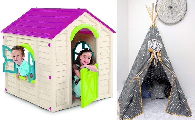 domki dla dzieci_tipi