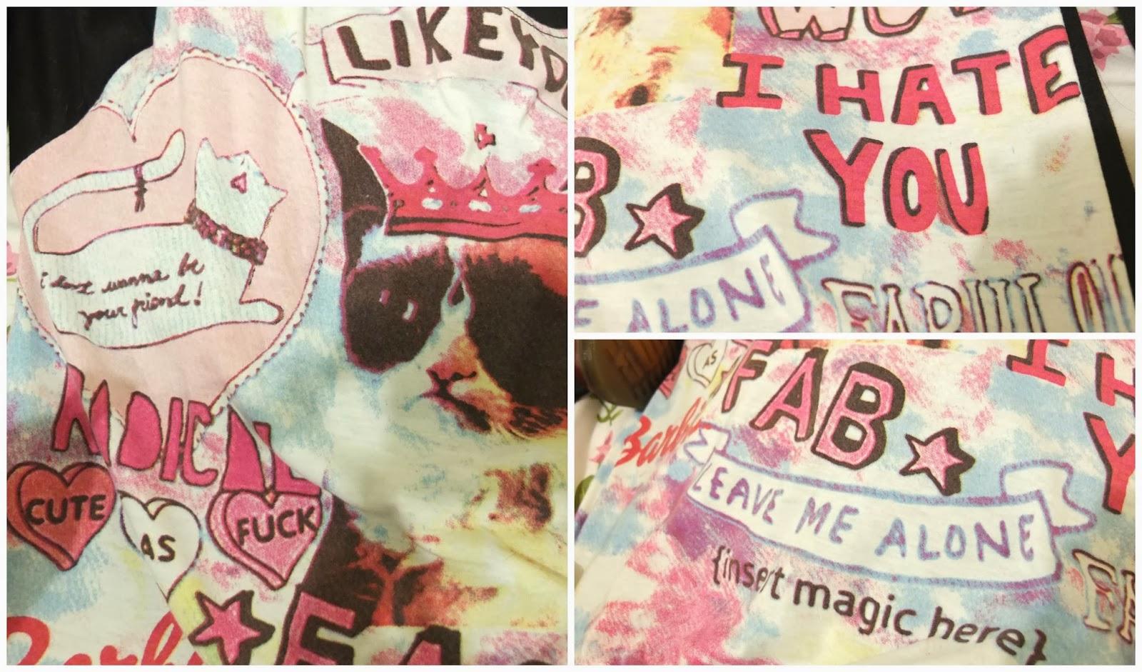 Grumpy Cat Sweater on Hello Terri Lowe, UK Fashion Blog.