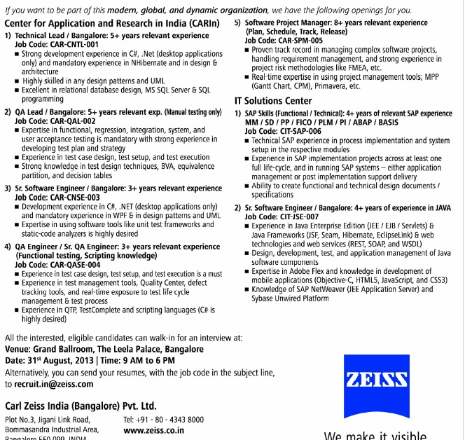 carl zeiss india