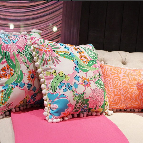 #LillyForTarget, Lilly Pulitzer For Target Accent Pillows