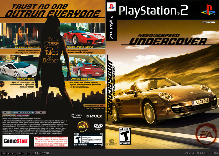 verdugo online need for speed undercover ps2 game. Black Bedroom Furniture Sets. Home Design Ideas