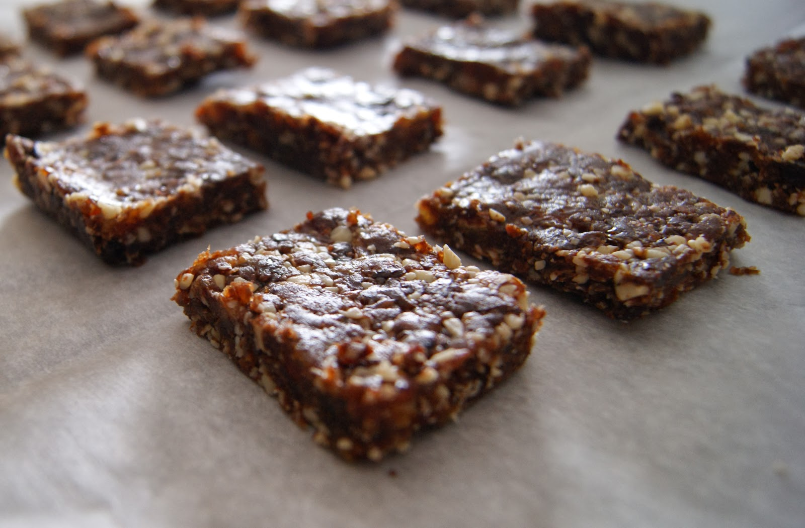 Health Bars With Dates Almond Date Bars
