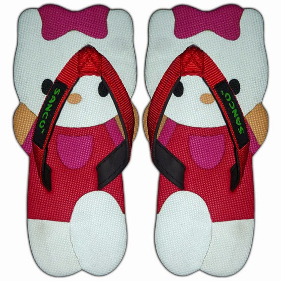 Sandal Sancu Kiti Merah
