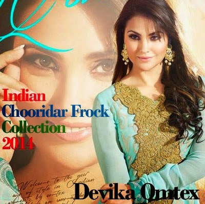 Lara Dutta Indian Churidar Frock Collection