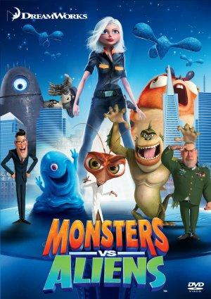 Quái Vật Ác Chiến Người Hành Tinh - Monsters Vs Aliens (2009) Poster