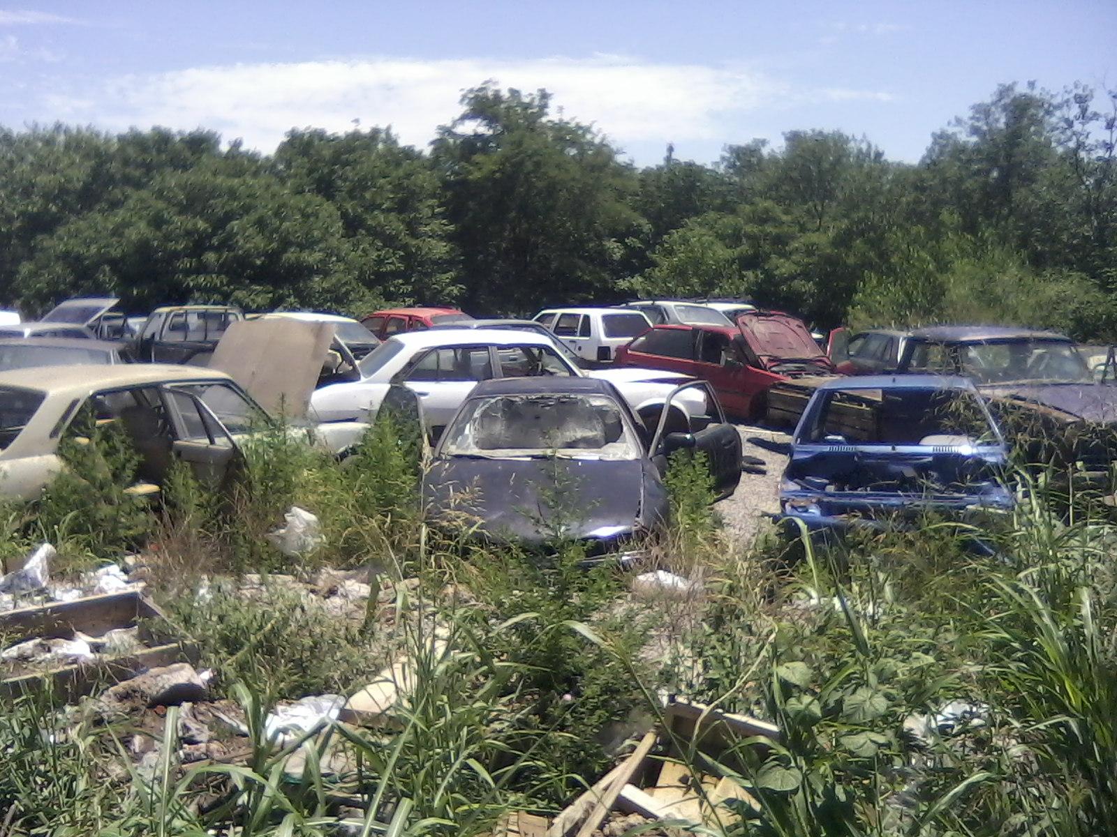 Desmantelan Veh Culos En El Corral N Municipal