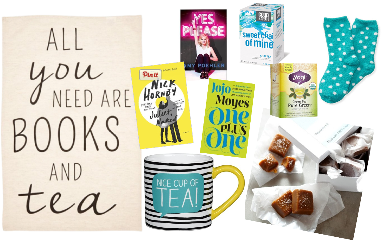 DIY Books & Tea gift basket