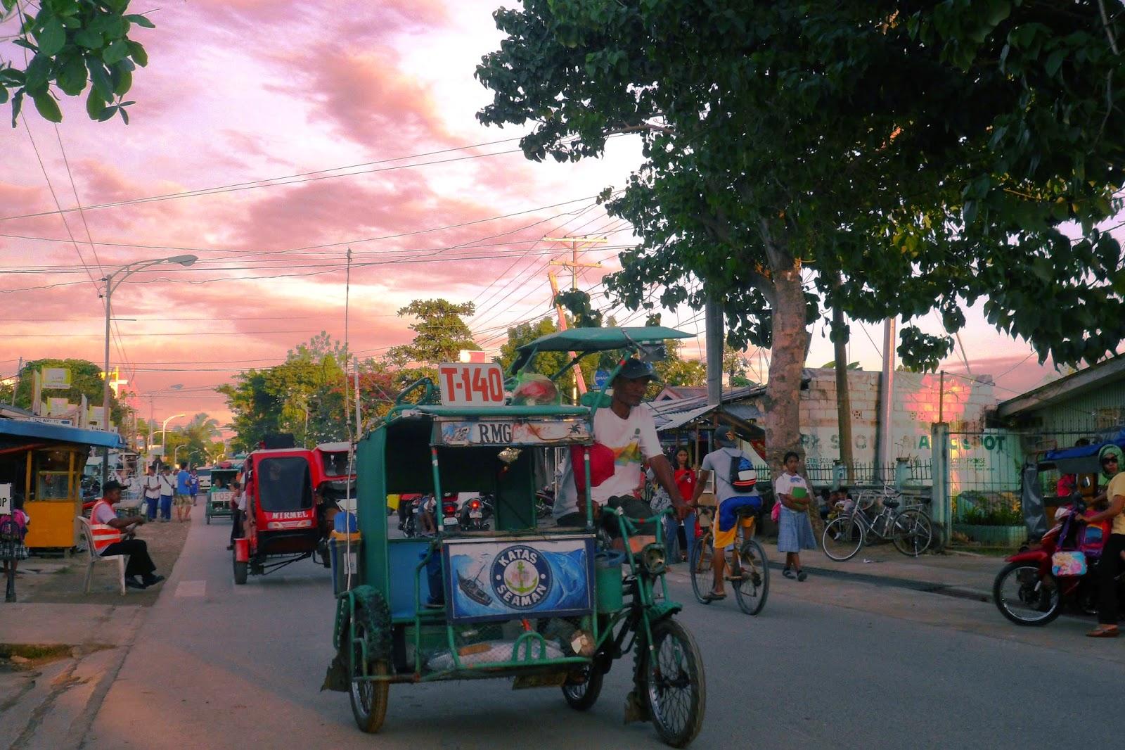 Pedicab at Bantayan Island