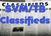 SVM/TB Classifieds
