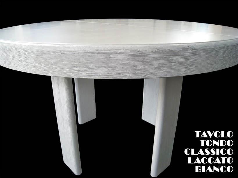 Tavolo circolare rinnovato