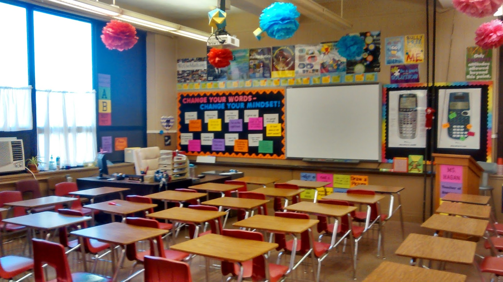 Classroom Decoration Colorful : Math love classroom pics my most colorful
